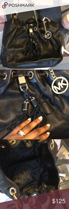 Authentic Michael Kors Bag Black authentic Micheal Kors Bag Bags Satchels