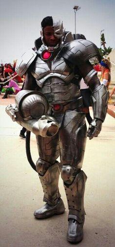 Cyborg cosplay