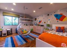 adorable modern boy's room