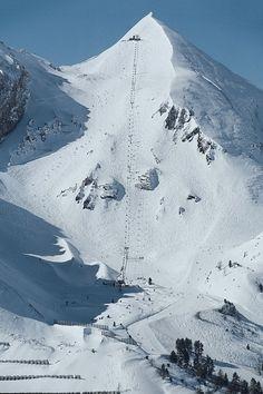 Skiing in Austria, Obertauern.