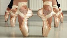 Allemaal ballerina voeten