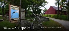 Love Sharpe Hill Vineyard-their Chardonnay is fab and their restaurant is always an amazing experience!