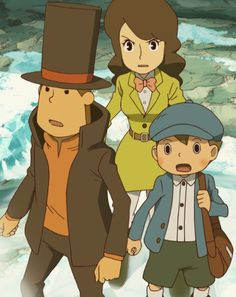 OMGOMGOMG PROFESSOR LAYTON AND THE AZRAN LEGACY IS FINALLY OUT IN AMERICA I'M SO HAPPY ASDFGHJKL *extreme fangirling*
