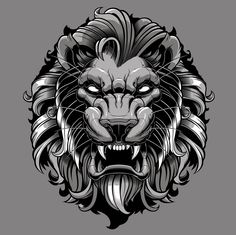 Lion vector-vector illustration-sweyda-vector lion.jpg