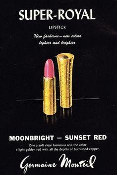 SUPER-ROYAL Lipstick Ad 1959