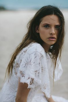 Houghton NYC Dahlia Dress / Sereine / Wedding Style Inspiration / LANE