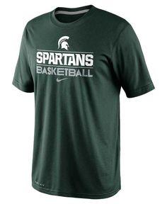 Nike Men s Michigan State Spartans Team Issue Practice Dri-FIT T-Shirt Men  - Sports Fan Shop By Lids - Macy s 6f582505a