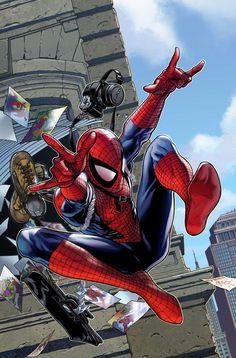 #Spiderman #Fan #Art. (Spider-Man) By: Steve McNiven. (THE * 5 * STÅR * ÅWARD * OF: * AW YEAH, IT'S MAJOR ÅWESOMENESS!!!™)[THANK Ü 4 PINNING!!!<·><]<©>ÅÅÅ+(OB4E)