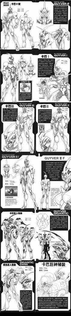 unidades guyver by alkan009 on deviantART