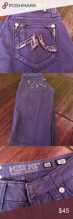 Miss Me Skinny Jeans Cobalt blue miss me jeans hardly ever worn in great condition Miss Me Pants Skinny