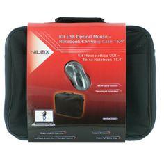 Borsa Notebook da 15.6 Nilox Notebag e MouseDigiz il megastore dell'informatica ed elettronica