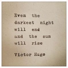 --quote by Victor Hugo
