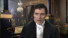 Rufus Sewell plays Lord Melbourne.