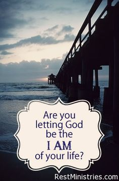 WHEN YOU START WORRYING AND THINKING 'I AM...' can it change your perspective when you remember that God IS the GREAT I AM in your life!