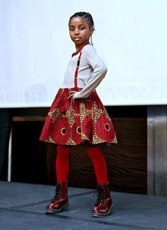 Children ankara african styles
