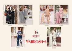 Buy Designer Deepsy Mahrosh-3 Salwar Kameez