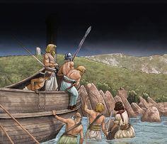 """Vandals landed on the Sardinian coast, c. 442"""