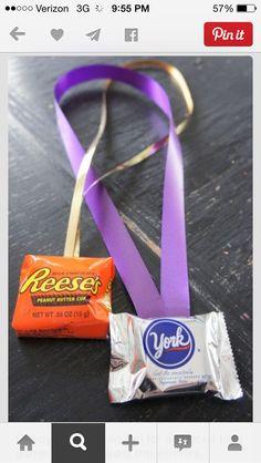 Simple, candy reward necklaces