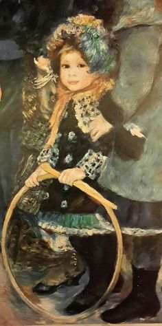 "Pierre Auguste Renoir,  ""Umbrellas"" (detail)"