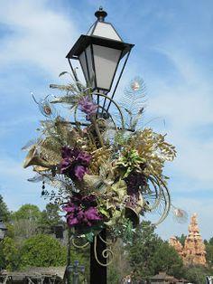 Mardi Gras lamp post
