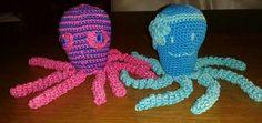 Deze inktvisjes zijn gemaakt door Gerda Lindeman.