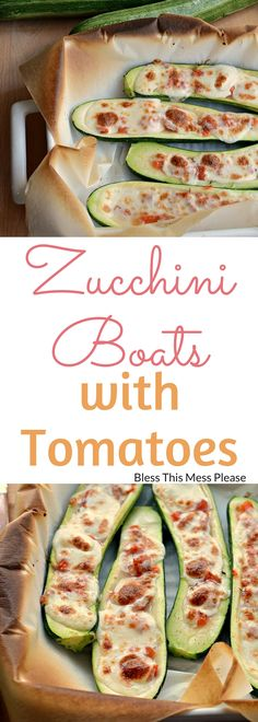 Zucchini Boats with