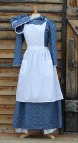 Pioneer woman dress - Old fashion dresses - Pioneer dress - Pioneer clothing - Pioneer costume Old Fashion Dresses, Fashion Outfits, Pioneer Trek, Pioneer Woman, Pioneer Farms, Pioneer Life, Pioneer Costume, Pioneer Clothing, White Elegance
