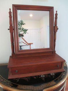 Ethan Allen Maple Vanity Mirror