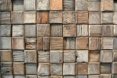 Reclaimed Timber Tiles - Each tile is coated in a low VOC, water based ceramic finish so they can be installed as wall treatments, backsplashes, wainscoting or artwork.