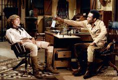 Blazing Saddles 1974 Gene Wilder & Cleavon Little