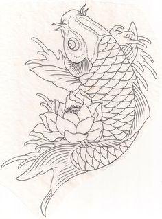 Koi fish #drawing