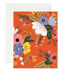 Rifle Paper Co. Lively Floral Red cards at Northlight