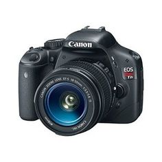 Canon EOS Rebel T2i 18 MP CMOS APS-C Digital SLR Camera with 3.0-Inch LCD and EF-S 18-55mm f/3.5-5.6 IS Lens http://www.amazon.com/gp/product/B0035FZJHQ/ref=as_li_ss_tl?ie=UTF8&tag=decmir-20&linkCode=as2&camp=1789&creative=390957&creativeASIN=B0035FZJHQ