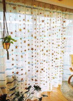 星のカーテン(フォトブース用)180cm×20本【改良しました】|その他オーダーメイド|party-crafts|ハンドメイド通販・販売のCreema