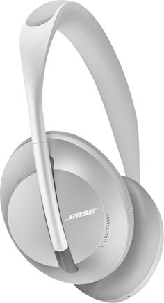 Bose Noise Cancelling Wireless Bluetooth Headphones with Alexa Voice Control, Silver Luxe Headset, Wireless Noise Cancelling Headphones, Bose Wireless, Alexa Voice, Usb, Works With Alexa, Macbook Pro, Over Ear Headphones, Cool Things To Buy