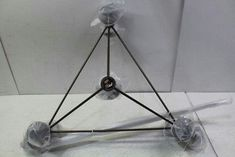 Roll And Hill Modo 3-Sided Chandelier MODC3-BRZ-SM-240
