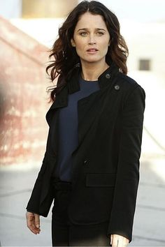 Robin Tunney as Lisbon - The Mentalist