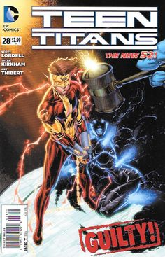 Without You __Written By Scott Lobdell , Art By Scott McDaniel and Tyler Kirkham , Cover Art Brett Booth , Kid Flash's true history and motivations are revealed as he goes to war with his former teamm