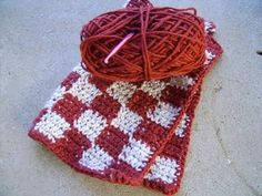 crocheted washcloth - @Linda Bruinenberg Stubbs - so pretty - thanks, Linda!