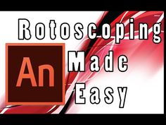 Simple Rotoscoping Tutorial: Animate CC - YouTube Cc Music, Adobe Animate, From Software, Make It Simple, Animation, Youtube, Tutorials, Digital, Animation Movies