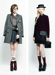 g.v.g.v fall / winter 2011 collection  that style on the left!