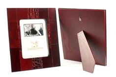 Leather Photo Frame Front/Back