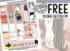Planner and Crafts Free Planner, Happy Planner, Printable Planner Stickers, Free Printables, Victoria Thatcher, Pink Spray Paint, Create Your Own Blog, Scripture Memorization, Passion Planner