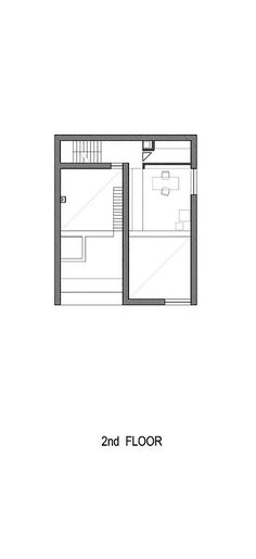 Casa Raumplan,Planta Segundo Piso