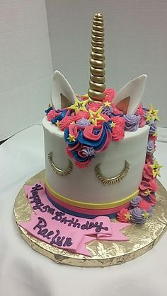 Unicorn, Birthday Cake, Desserts, Food, Design, Tailgate Desserts, Birthday Cakes, Deserts, Essen