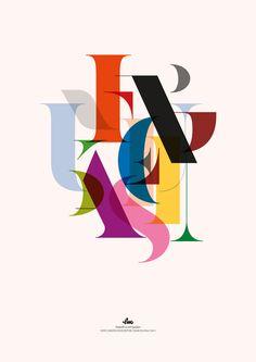 Laura Meseguer - Poster designed for the Festival Offf2013 | BARCELONA https://vimeo.com/68049053