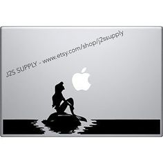All of our decals are made in the USA by a service disabled veteran owned and operated company. This mermaid decal will look great on any size MacBook