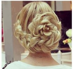 Groovy 1000 Images About Hair On Pinterest Rose Braid Coiffure Short Hairstyles Gunalazisus