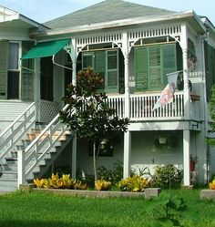 Airy Looking Galveston TX House, July 2010