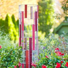 Wire Trellis Tower from Lowe's Creative Ideas by maxine
